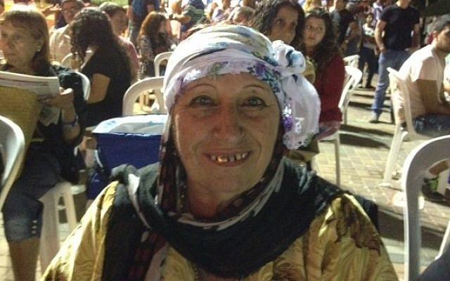 Sima Levy, originally from the Kurdish city of Qamishli, Syria (photo credit: Times of Israel/Lazar Berman)