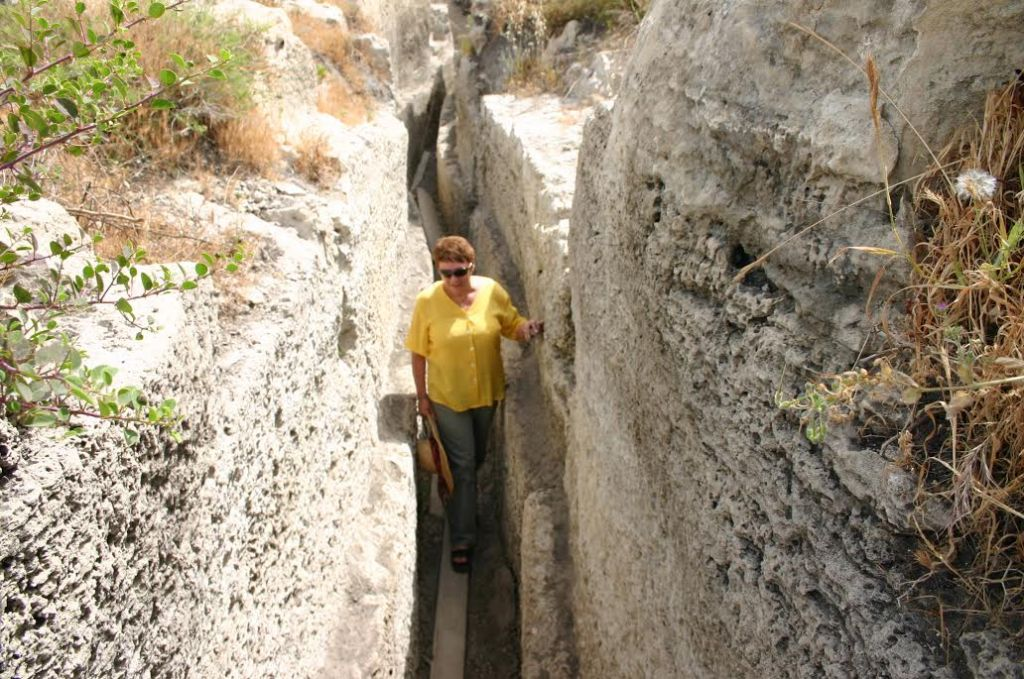 The aquaduct (photo credit: Shmuel Bar-Am)
