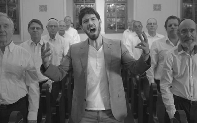 Choni G and Cape Town Jewish community members in 'I Fink U Jewish' parody video. (YouTube screenshot)