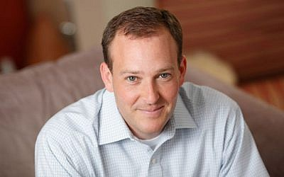 Jewish Republican Lee Zeldin, a US Representative for New York's 1st congressional district. (Courtesy JTA)