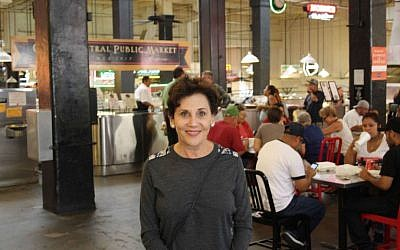 Adele Yellin is in the process of overhauling Los Angeles' Grand Central Market even as she seeks to retain its charm. (Anthony Weiss/JTA)