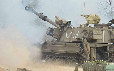 Illustrative. An IDF self-propelled howitzer.  (Israel Defense Forces)