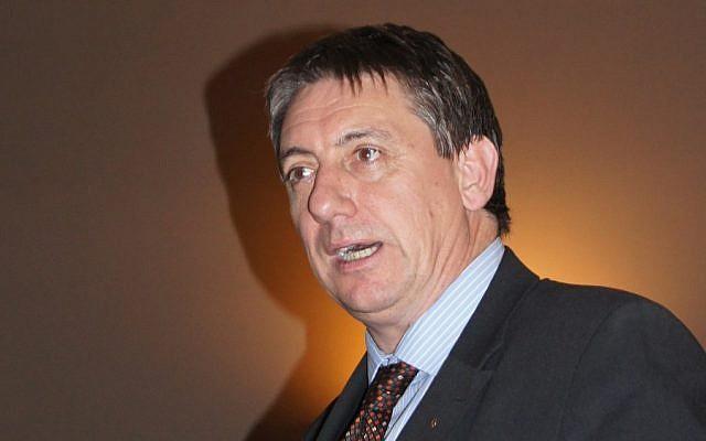 Belgian Deputy Prime Minister Jan Jambon (photo credit: CC BY Geert Renckens/Wikipedia)