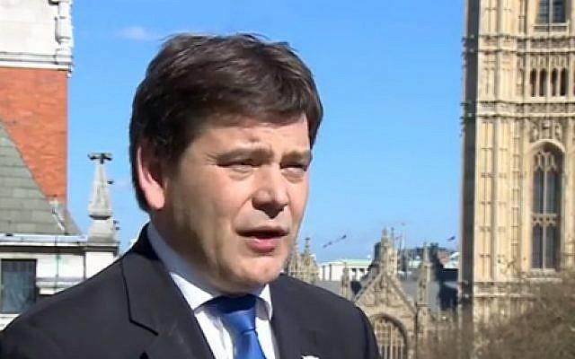 Andrew Bridgen (Screen capture: Youtube/ BBC)