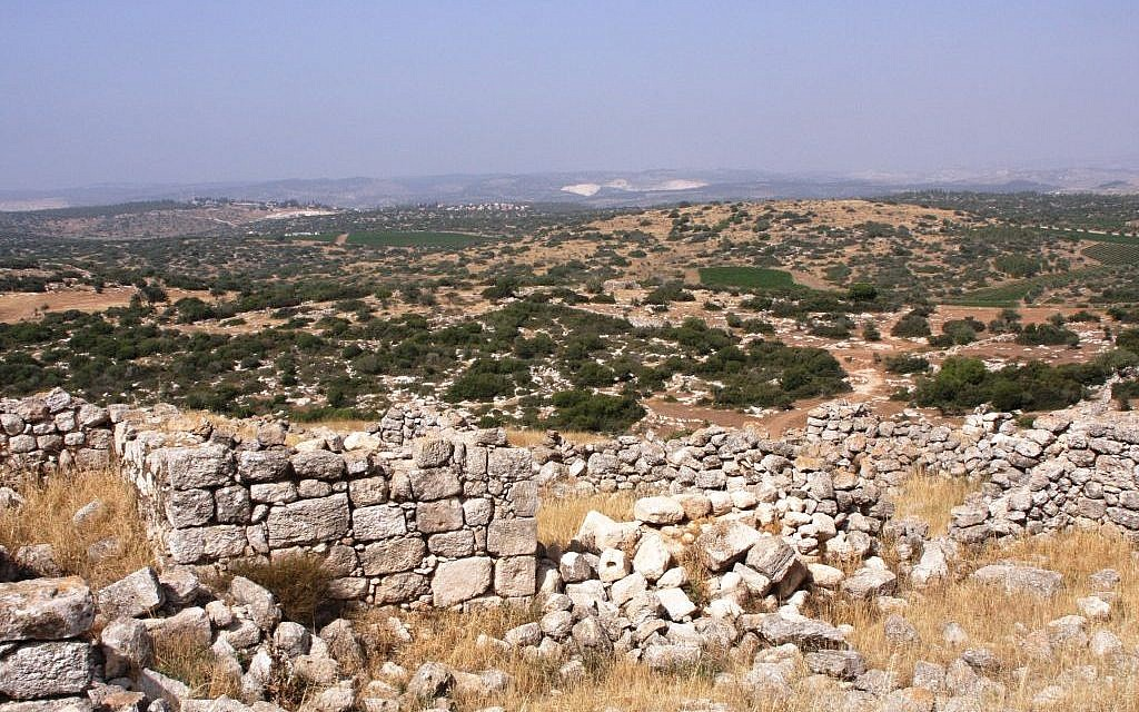Burgin, the view from the top (Photo credit: Shmuel Bar-Am)