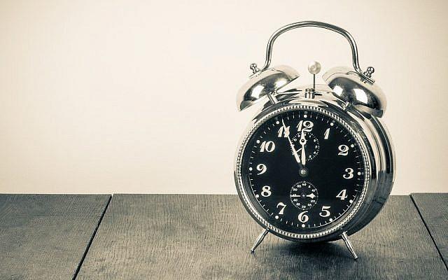 Illustrative photo of a clock.  Shutterstock)