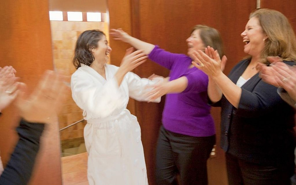 Mayyim Hayyim, a nondenominational mikvah in Newton, Mass., has been the site of some 2,200 conversion immersions since it opened in 2004. (JTA)