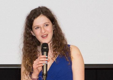 Ella Rose, president of the Union of Jewish Students (courtesy UJS)
