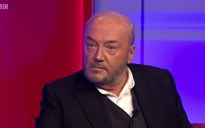 George Galloway (YouTube screen capture/Gallowayist)