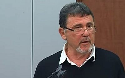 Professor Shlomo Sand (Photo credit: Youtube screen capture)