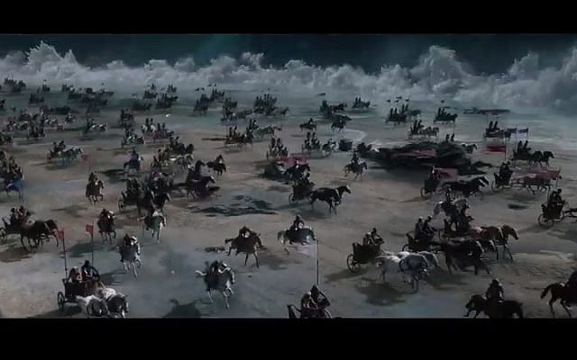 "A still from ""Exodus: Gods and Kings"" (photo credit: Youtube screenshot)"