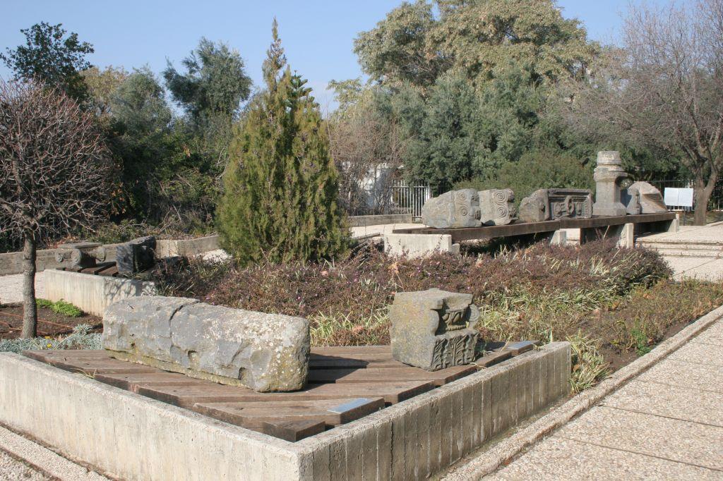 The garden of the Golan Archeological Museum (photo credit: Shmuel Bar-Am)