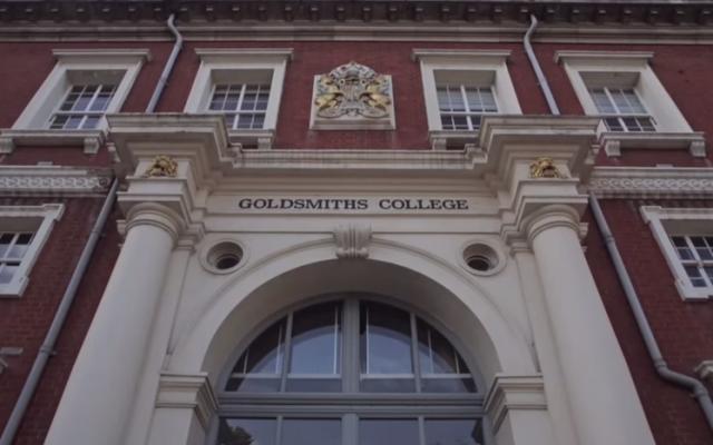Goldsmiths College (YouTube screenshot)