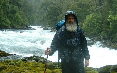Hilik Magnus, the founder and director and Magnus International Search and Rescue, on a mission in southern Chile (photo credit: courtesy Hilik Magnus)