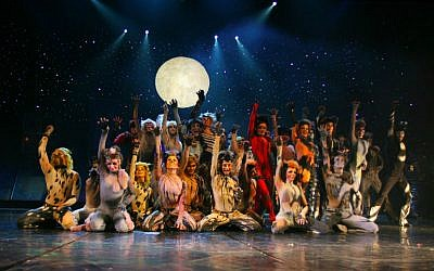 'Cats' cast at the Roma Musical Theater in Warsaw, 2007 (photo credit: Effie/CC BY-SA)