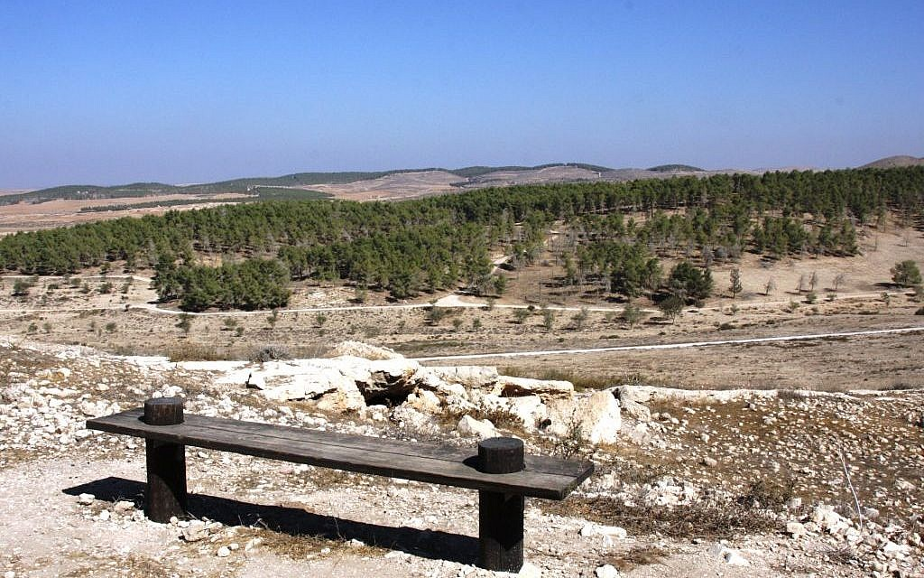 The view from the beginning of the Golden Path (photo credit: Shmuel Bar-Am)