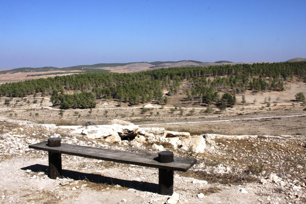 The view from the beginning of the Golden Trail (photo credit: Shmuel Bar-Am)