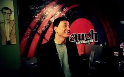 Jamie Masada, founder of The Laugh Factory comedy clubs (photo credit: YouTube screenshot)