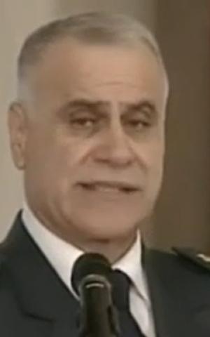 Lebanese army commander Gen. Jean Kahwaji (screen capture: YouTube/MTVLebanonNews)