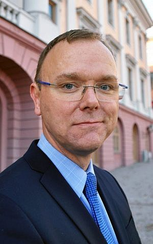 Carl Magnus Nesser, Swedish ambassador to Israel (photo credit: courtesy Swedish Embassy)
