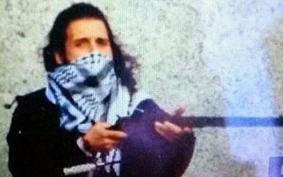 Ottawa gunman Michael Zehaf-Bibeau (photo credit: YouTube, screen capture)