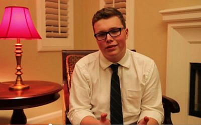 Candidate Sage Naumann, 19 (photo credit: YouTube)