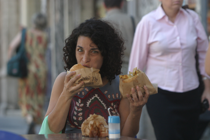 Popular foods like falafel have gained Israel an international reputation as a vegan-friendly country. (photo credit: Orel Cohen/Flash90)