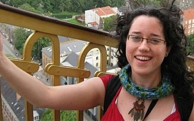 Shira Dabush, 30, from Ramat Gan, died in a bus crash in Nepal, October 24, 2014. (photo credit: Courtesy)