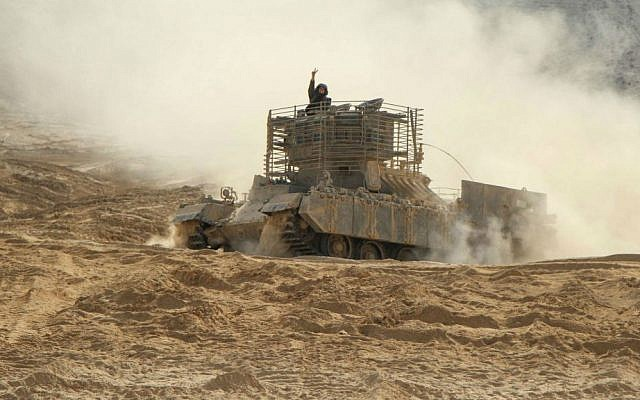 Tank instructors during training; the army is planning to train women tank commanders during the coming year (photo credit: IDF Spokesperson's Unit)
