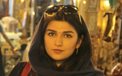 Ghoncheh Ghavami (screen capture: BBC)