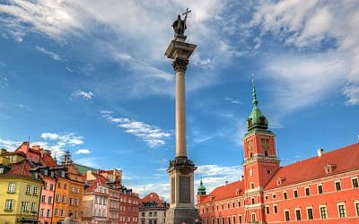 Warsaw Old Town via Shutterstock.