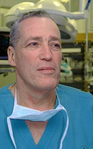 Dr. Avi Rivkind of Hadassah Medical Center. (Courtesy)