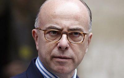 French Interior Minister Bernard Cazeneuve. (AFP/Thomas Samson)