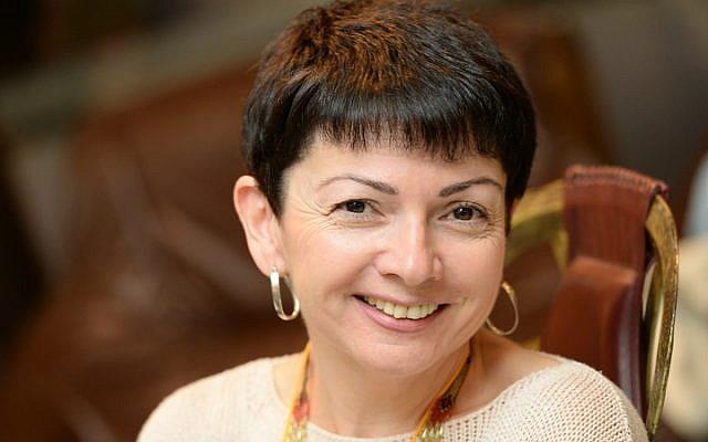 Limmud FSU director Galina Rybnikova. (photo credit: Yossi Aloni)