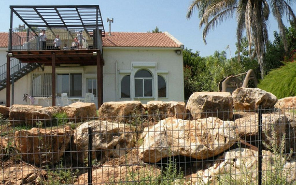 Oasis in the Galilee, a private hideaway on almost 30 verdant dunams (7-1/2 acres), surrounded by lush gardens and fruit trees at the foot of Mt. Eliezer (photo: Courtesy)