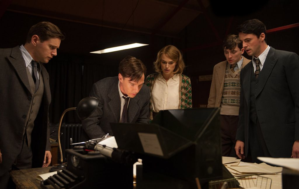 The cast of 'The Imitation Game.' (courtesy)