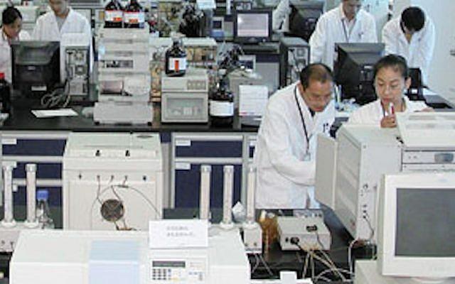 A WuXI lab at work (Photo ctedit: Courtesy)