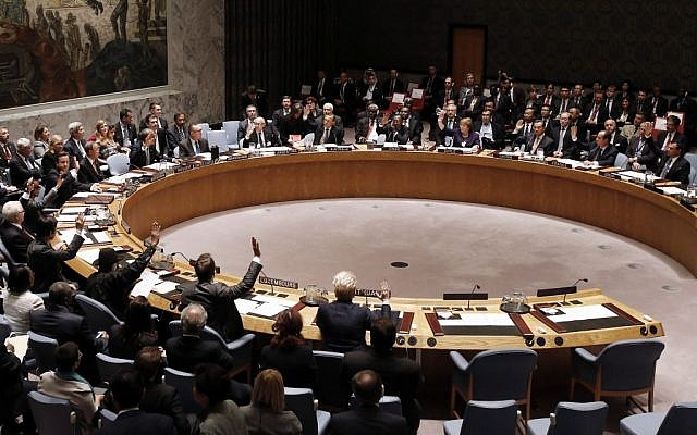 The UN Security Council (AP/Jason DeCrow)