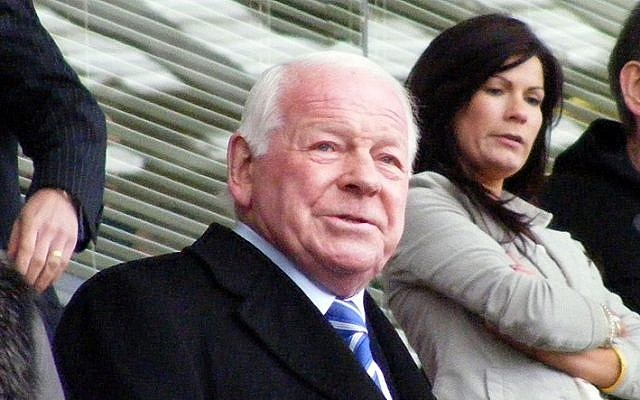 Wigan owner Dave Whelan (photo credit: Wikimedia Commons/Dan Farrimond CC-BY)