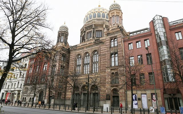 The Great Synagogue in Berlin, Germany. (photo credit: Nati Shohat/FLASH90)