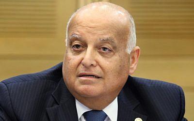 Supreme Court justice Salim Joubran. (Isaac Harari/FLASH90)