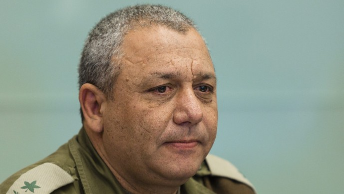 Chief of General Staff Gadi Eisenkot, seen here when he was still a major general. (Flash 90)