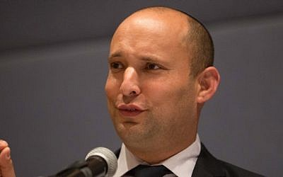 Economy Minister and Jewish Home party Naftali Bennett. (Photo credit: Noam Revkin Fenton/Flash 90)