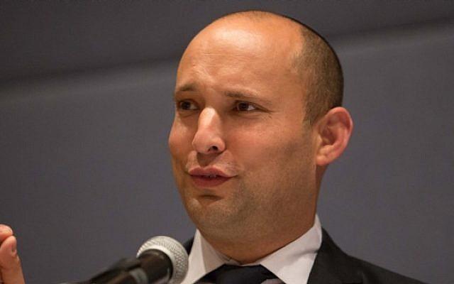 Economy Minister and Jewish Home party Naftali Bennett. (Photo credit: Noam Revkin Fenton/Flash 90)