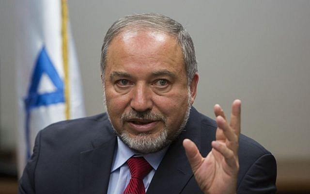 Foreign Minister Avigdor Liberman (photo credit: Yonatan Sindel/Flash90)