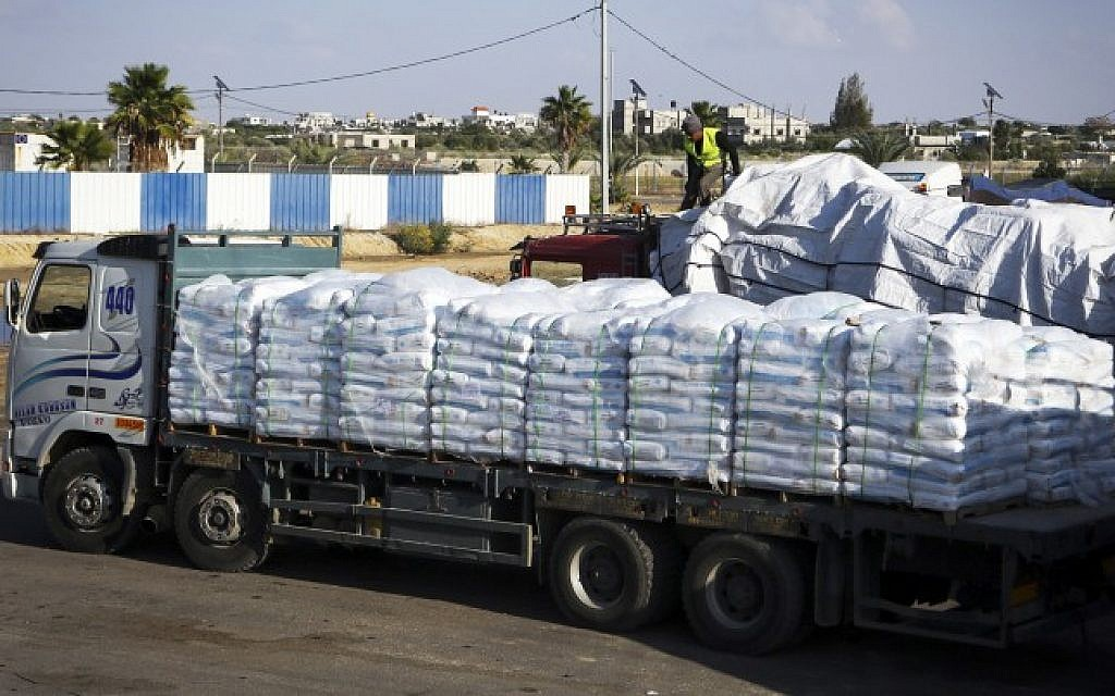 Un to begin funneling building materials to gaza residents for Building materials that start with i