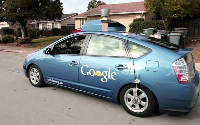Illustrative: A Google self-driving connected car. (Courtesy)