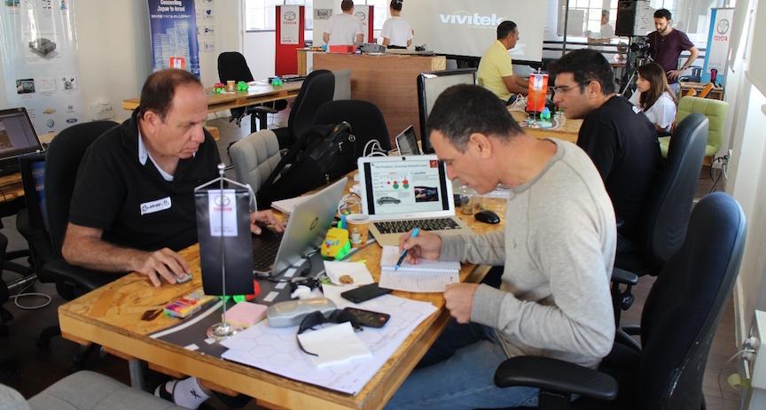 Toyota opens 39 brave new world 39 of israeli tech cooperation for Toyota motor credit corporation atlanta