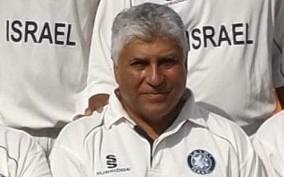 Hillel Oscar, the former Israeli cricket captain who was killed when hit by a ball when umpiring a game on November 29, 2014 (photo credit: Courtesy Israel Cricket Association)
