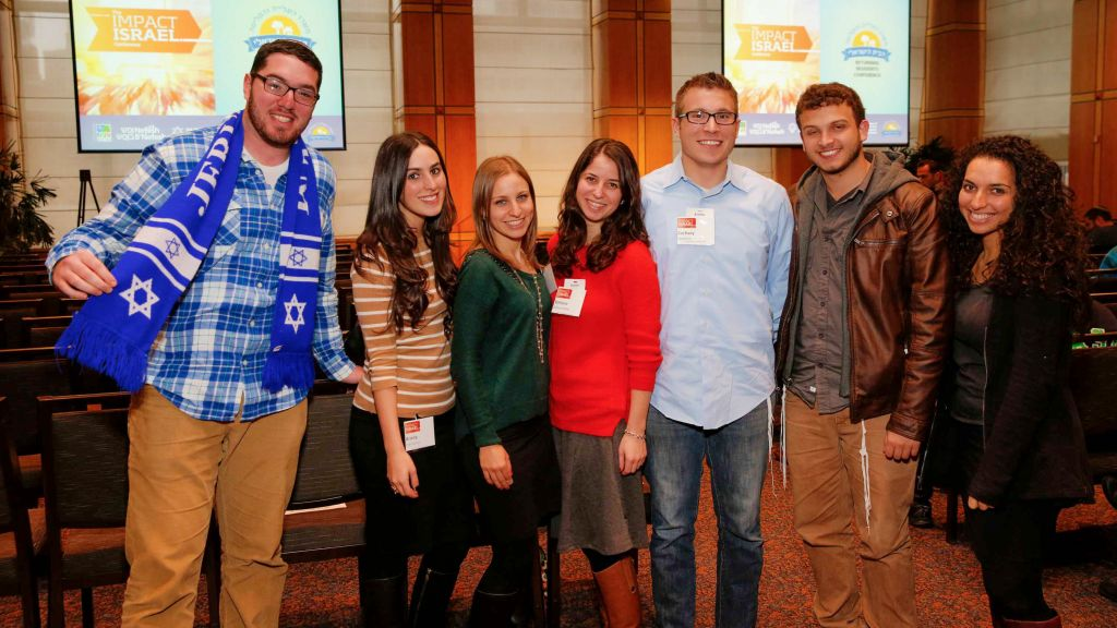 Some of the young Jewish professionals attending Impact Israel in New York. (Mark Von Holden)